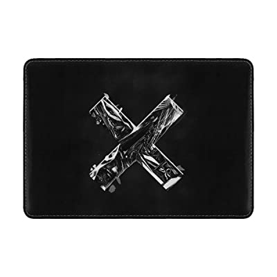 Cross Black Gray Leather Passport Holder Cover Case Travel One Pocket