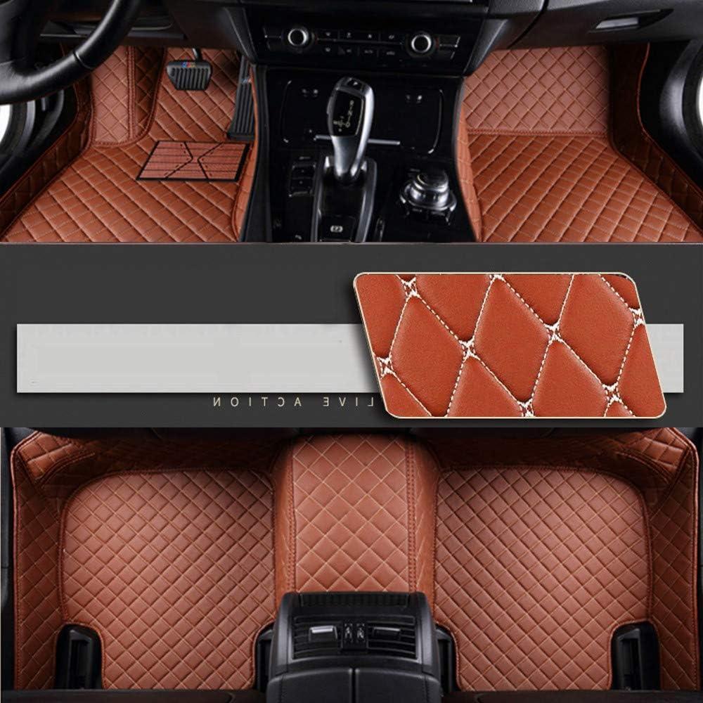 8x Speed Auto Fussmatten For Bmw X3 E83 2005 2010 Auto Schutzdecke Volle Abdeckung Autoteppiche Hochwertiges Pu Leder Wasserdichte Brown Auto