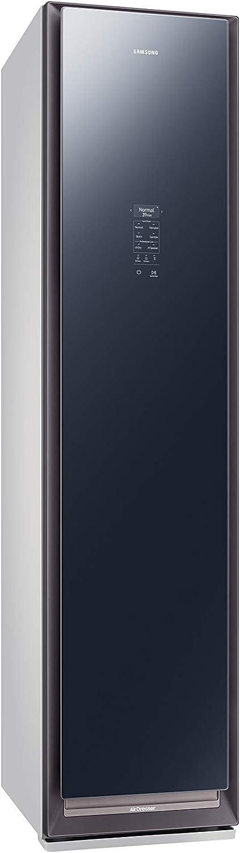 traitement anti-pliures d/ésinfecte et /élimine les odeurs s/èche Samsung Appareils m/énagers JetSteam AirDresser Cabine /à vapeur bleu fonc/é//gris