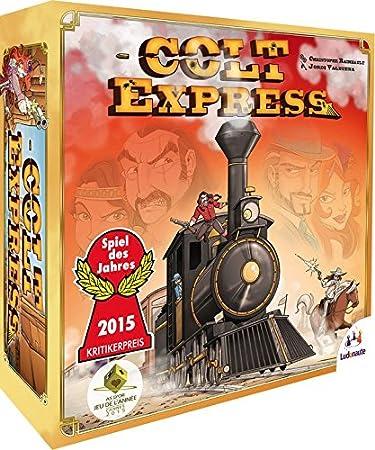 Asmodée - Jeu de Société - Colt Express - 3770002176313: Amazon.es: Juguetes y juegos