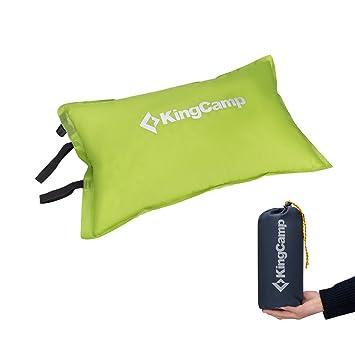 KingCamp Almohada de Viaje, Camping o Senderismo, Muy Confortable ...