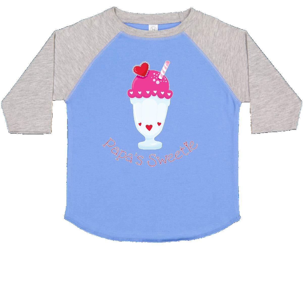 inktastic Papas Sweetie Toddler T-Shirt