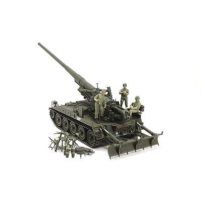 Tamiya America, Inc 1 35 U.S. Self-Propelled Gun M107 (Vietnam War), TAM37021: Toys & Games