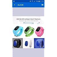 Hangang Reloj para Niños Smartwatch Niño para llamadas SOS localizador de dispositivo para niños seguro, antipérdida…