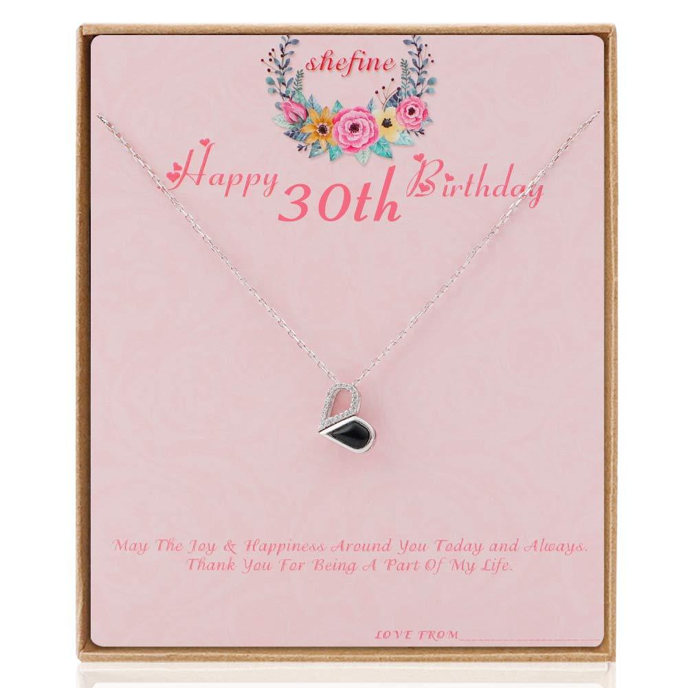 shefine Feliz 30 cumpleaños: Amazon.es: Joyería