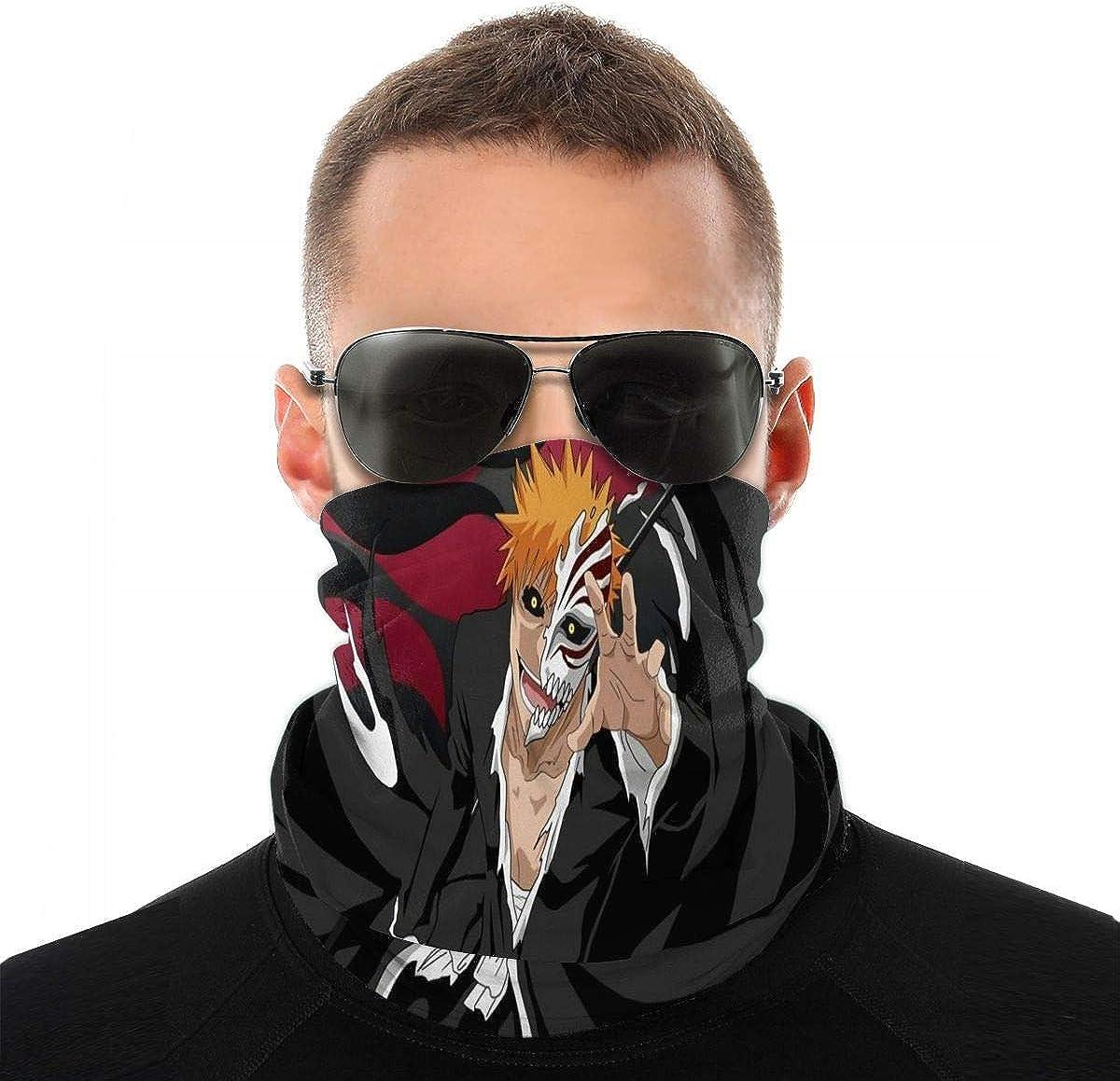 Ichigo Bleach Masks Red Black Halloween Costume Face Mask New Anime Manga