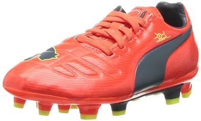 PUMA Evopower 3 Firm Ground JR Soccer Shoe (Little Kid Big Kid) f9399c297