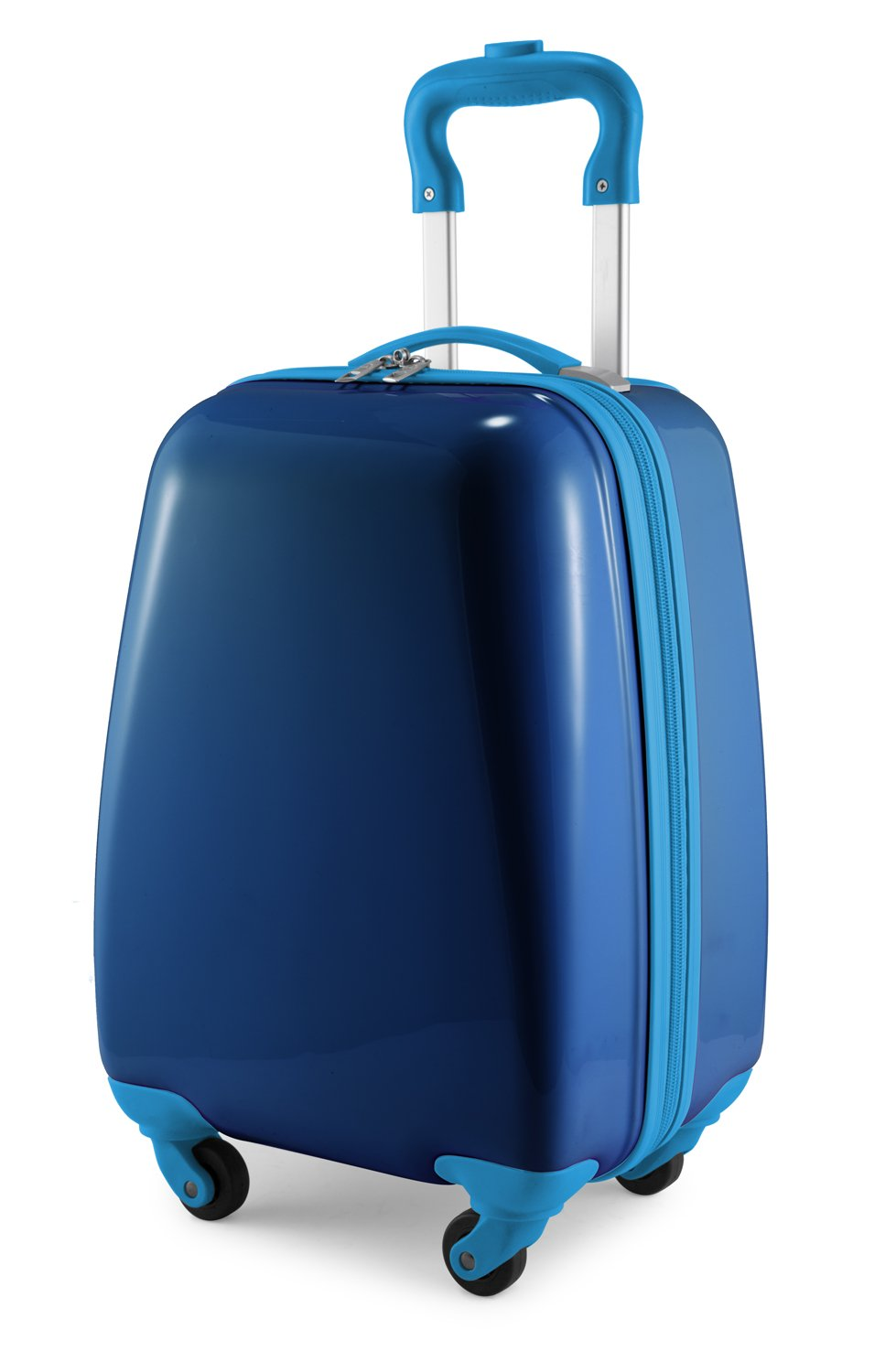 Hauptstadtkoffer Kids Luggage Children's Luggage Suitcase Hard-Side Glossy Multicoloured Dark Blue by Hauptstadtkoffer