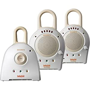 Sony 900 MHz BabyCall Nursery Monitor with Receivers (Discontinued by Manufacturer)