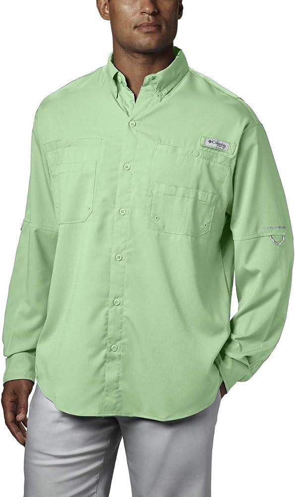Columbia Tamiami II Camisa de Manga Larga para Hombre, Hombre, FM7253, Cayo Oeste, Large: Amazon.es: Deportes y aire libre