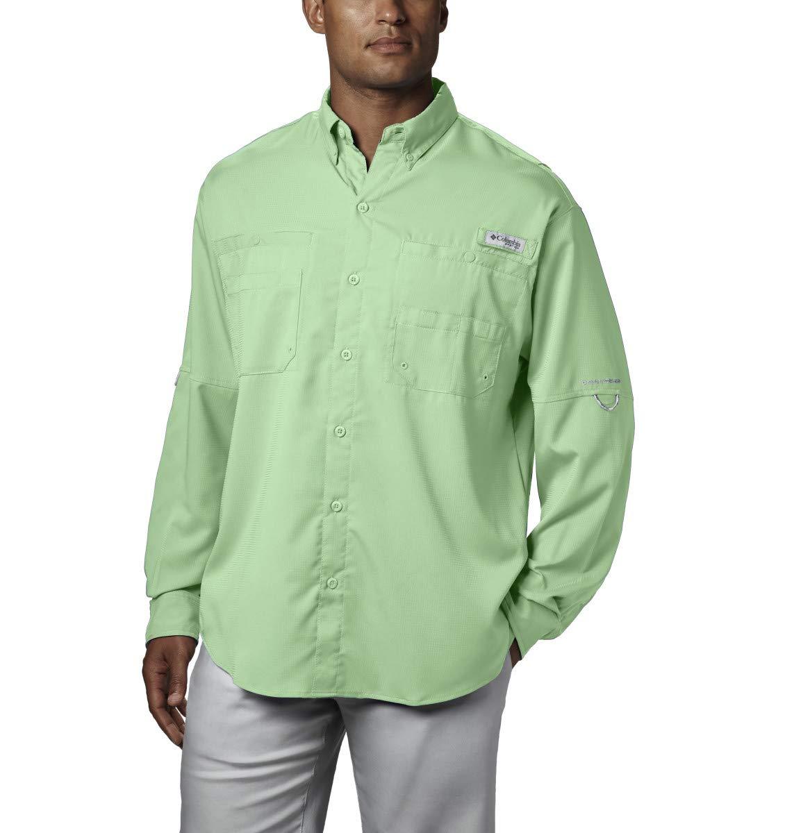 Columbia Men's PFG Tamiami II Long Sleeve Shirt - Big , Key West, X-Small