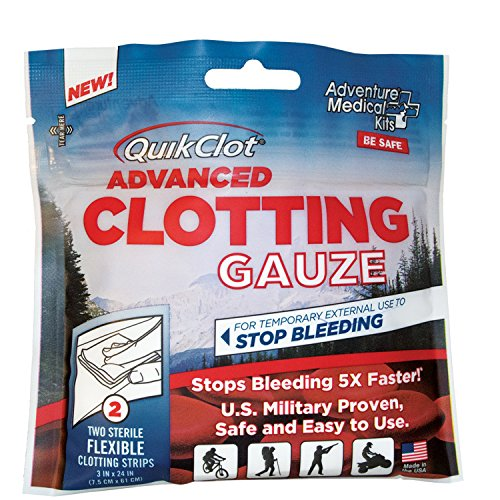 Adventure Medical Kits AMK Quickclot Advanced Clotting Gauze by Adventure Medical Kits