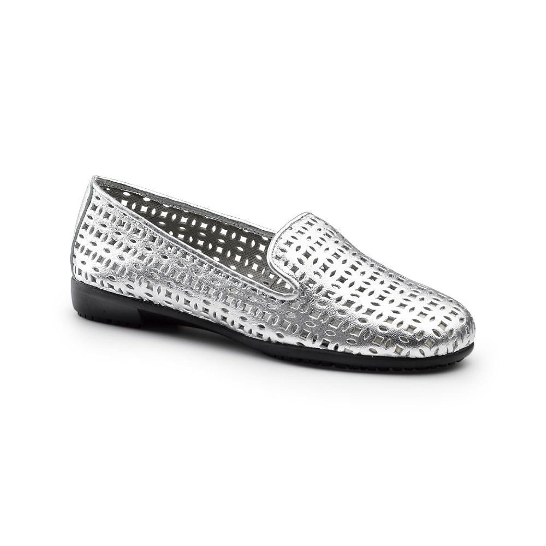 Aerosoles sureGrip women's you betcha SG silver work shoes