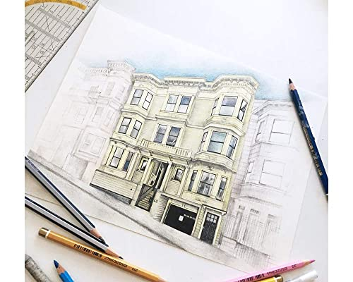 Home Sketch from Photograph custom hand drawing first home Realtor gift heirloom sketch house portrait homeowner drawing moving gift
