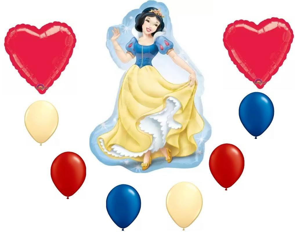 Amazon.com: Disney Princess Snow White Party Balloon Decoration Kit ...
