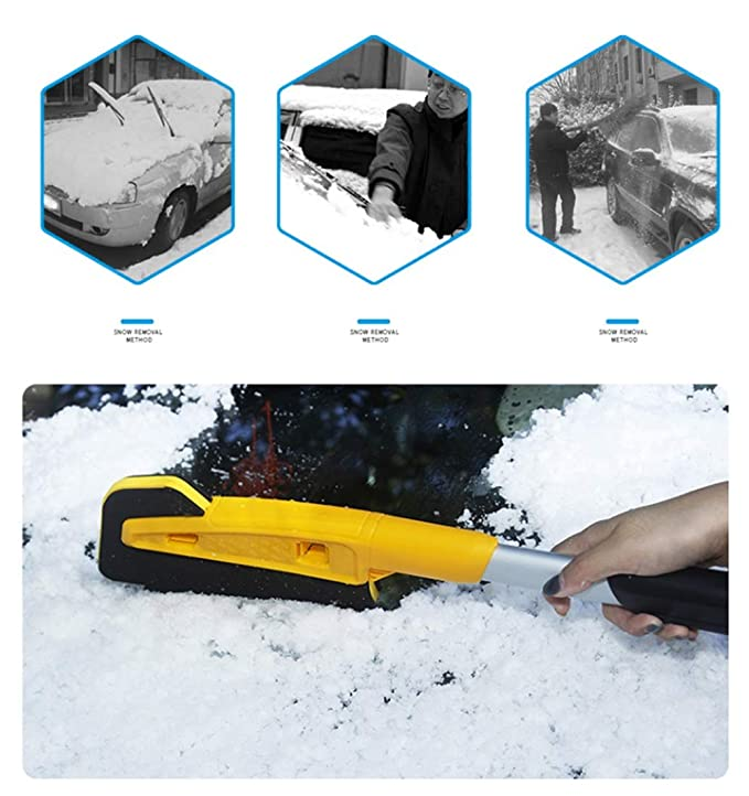 GOWOLD Ruspe spianatrici multifunzionali per la rimozione della Neve Pala per la rimozione di vetri per Auto per linverno