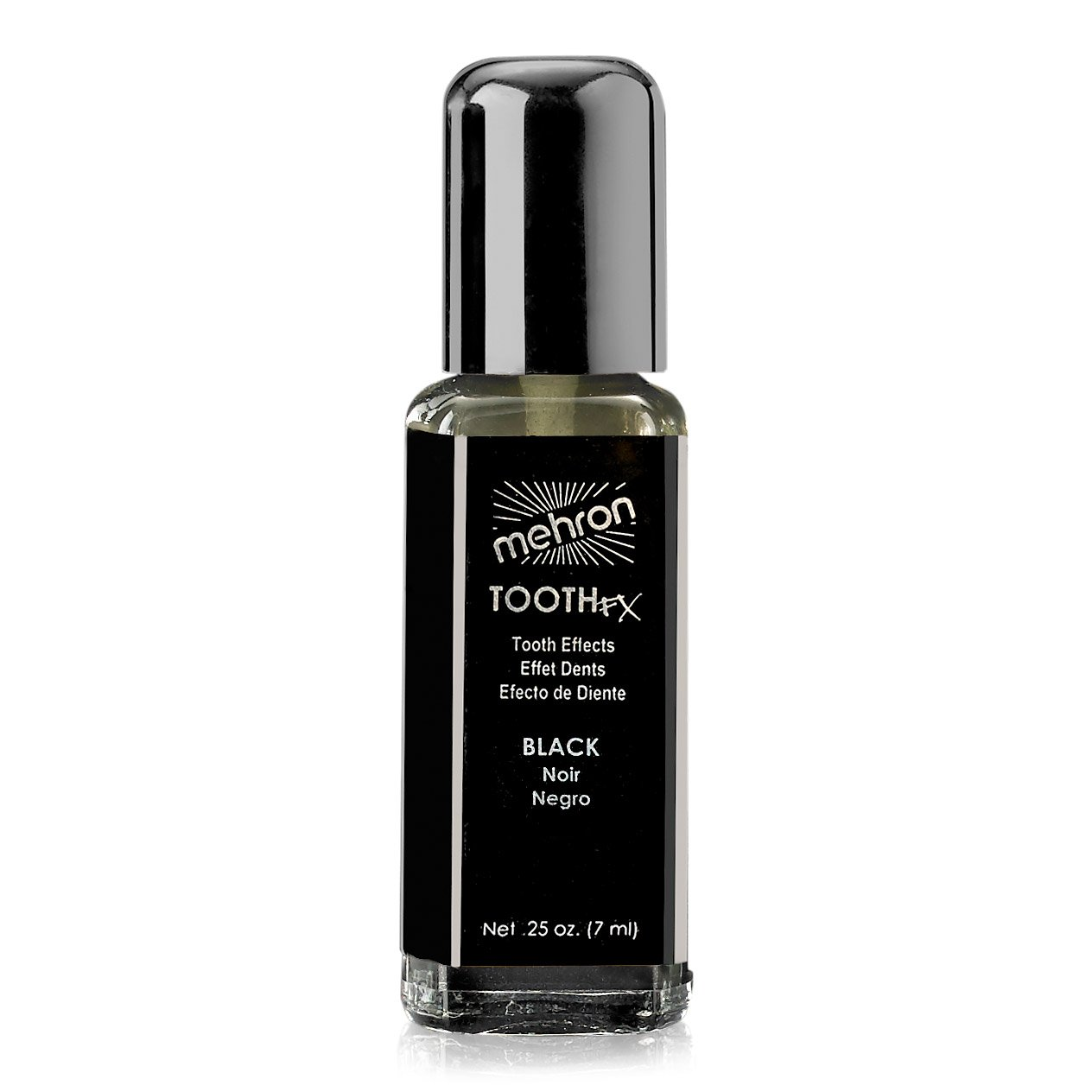 Mehron Tooth Fx Tooth Black Special Effects Makeup. 0.25 Fluid Ounces