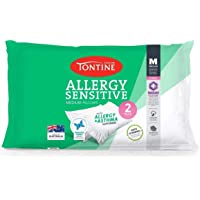 Tontine T2891 Allergy Sensitive Pillow Duo Pack, Medium