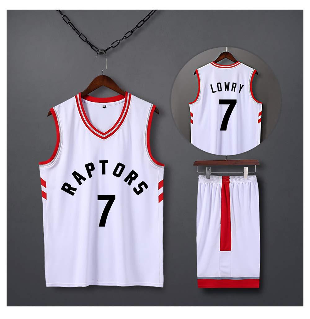 unisex basketball T-shirt student sportswear WXXJB fan sweatshirt Toronto Raptors Kyle Lowry # 7 jersey,Raptors Clippers basketball uniform