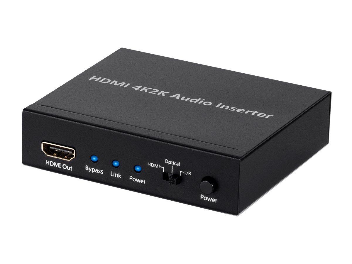 Monoprice 113347 BlackbirdTM 4K Series HDMI Audio Inserter