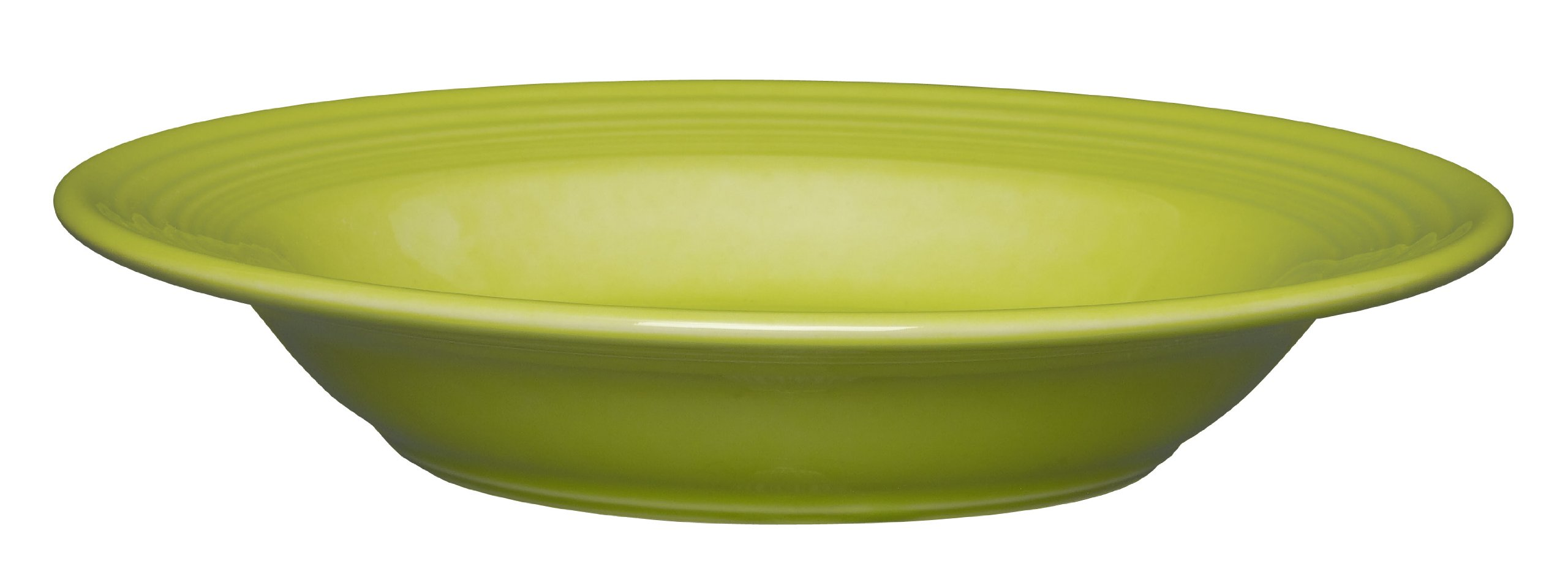 Fiesta 9-Inch Rim Soup Bowl, 13-1/4-Ounce, Lemongrass