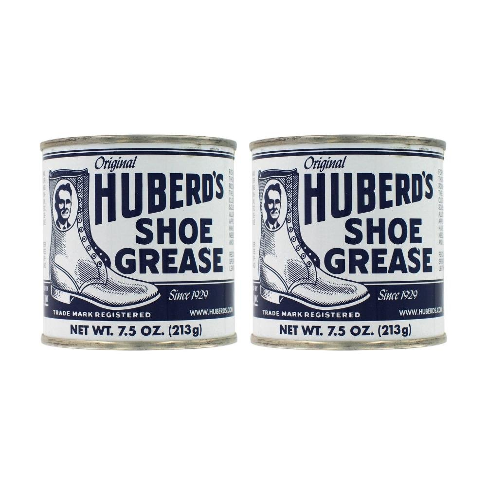Huberd's Original Shoe Grease 7.5 Ounces (Pack of 2)