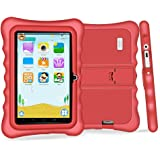 """YUNTAB Q88H Kids Edition Tablet, 7"""" Display, 8 GB, WiFi, Bluetooth, Kids Software Pre-Installed, Premium Parent Control , Educational Game Apps (WHITE)"""