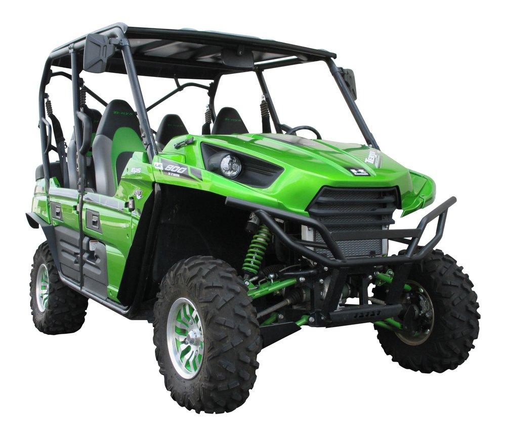MudBusters fender extensions for Kawasaki Teryx-4