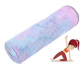 Grist CC Toalla De Yoga Antideslizante,Toalla De Pilates De ...
