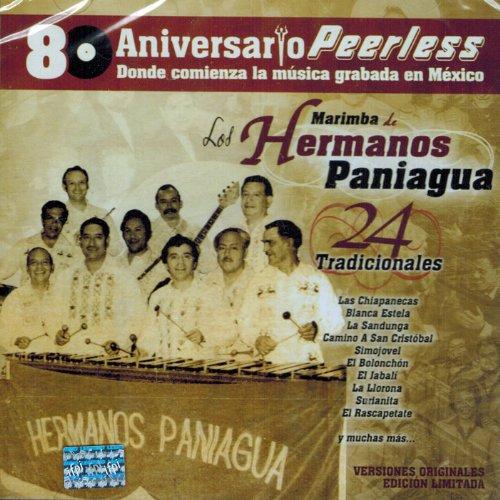 Marimba De Los Hnos  Paniagua 80 Aniversario Peerless