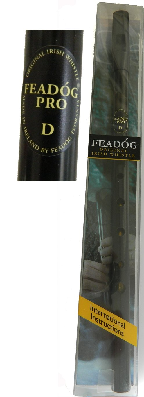 Feadog Pro Tin Whistle in Black 4334440960