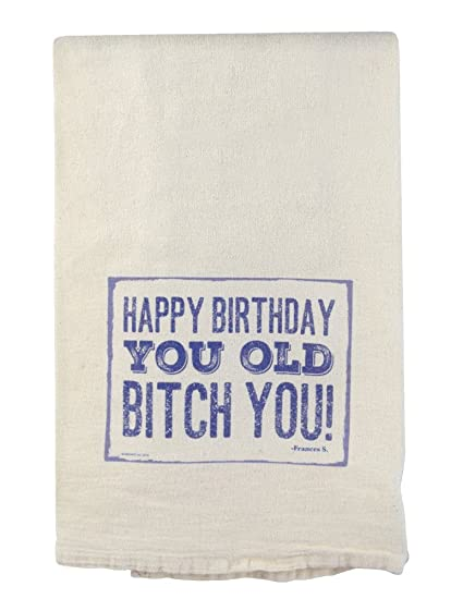 Amazon Com American Made 24 Cotton Flour Sack Towel Gift Happy