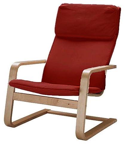 Stupendous The Pello Chair Cotton Covers Replacement Is Custom Made For Ikea Pello Chair Cover Or Pello Armchair Slipcover Multi Color Options Cotton Red Creativecarmelina Interior Chair Design Creativecarmelinacom