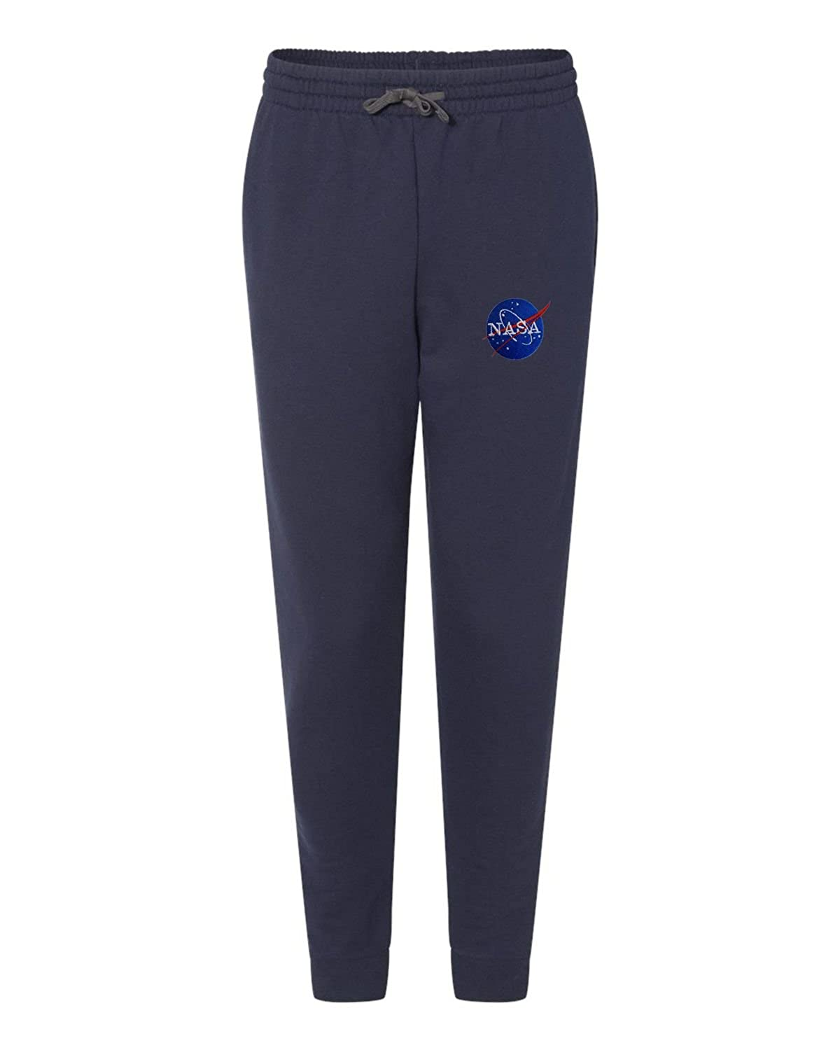 Go All Out Adult NASA Insignia Logo Embroidered Joggers