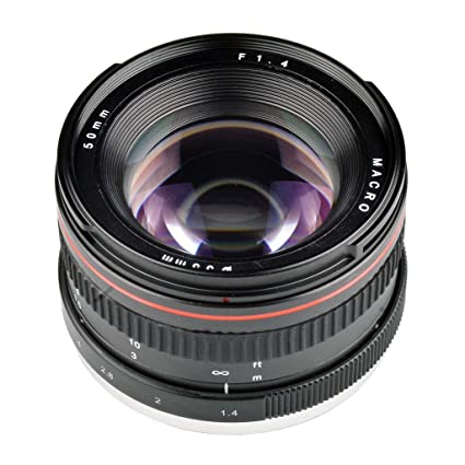 Amazon com: Prettyia 50mm F1 4 Full Frame Lens Manual for