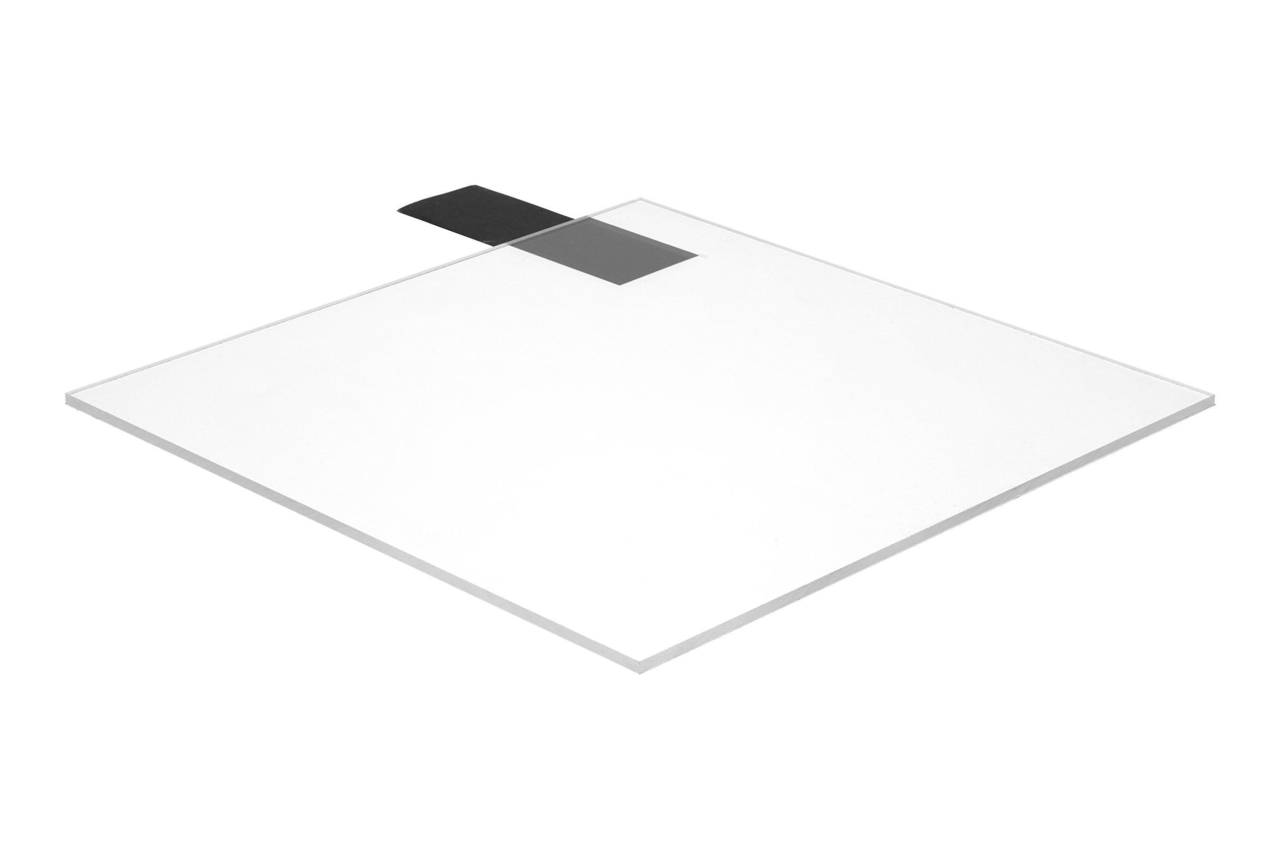 Falken Design CL1-2/1236 Acrylic Clear Sheet, 12'' x 36'', 1/2'' Thick by Falken Design Corporation