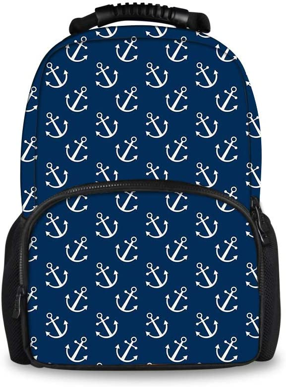 Navy Backpack Anchor Backpack 4 Colors Personalized Backpack Boys Backpack Girl Backpack Anchor LunchBox Kids Backpack Teal Backpack