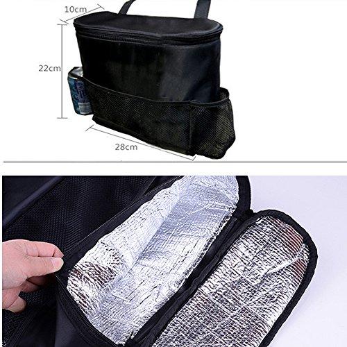 29cc8c3655c0 Westspark Car Seat Back Organizer, Auto Back Seat Hanging Insulation Multi-  Pocket Travel Storage Cooler Bag Heat-Preservation Insulated Wrap Bottle ...