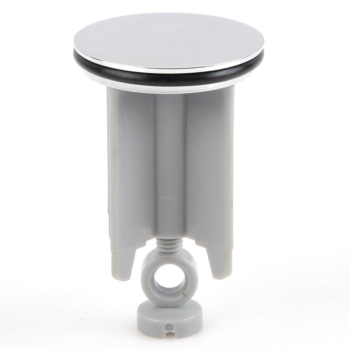 Bonde de lavabo Salle de Bain EUGAD 0073MTG-h Abattant WC Lunette de Toilette en Duroplaste Soft Close Motif Fleur Design D/éco et Moderne