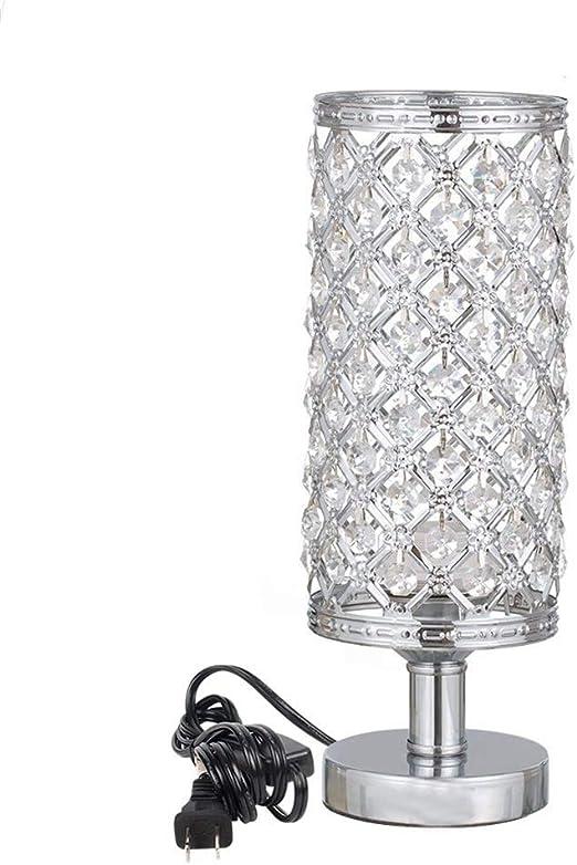 4.3 * 4.3 * 12.2 pulgadas moderna lámpara de escritorio de mesa de ...