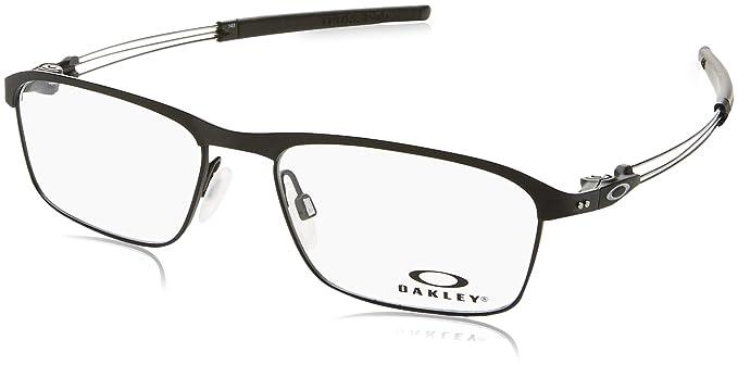 Oakley 5079 507904, Monturas de Gafas para Hombre, Black/Ferrari Red, 55: Amazon.es: Ropa y accesorios
