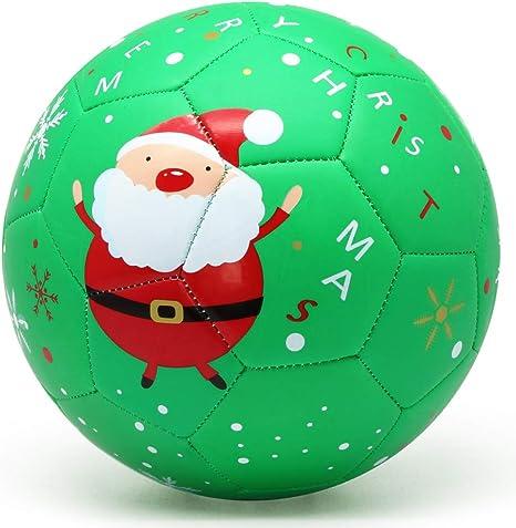 Pelotas de fútbol PP Picador para niños, tamaño 3, diseño navideño ...