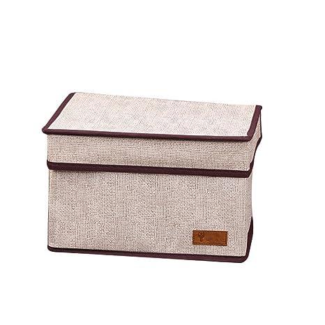 DaoRier 1pc Caja de Almacenamiento Home Decorative Foldable Storage ...