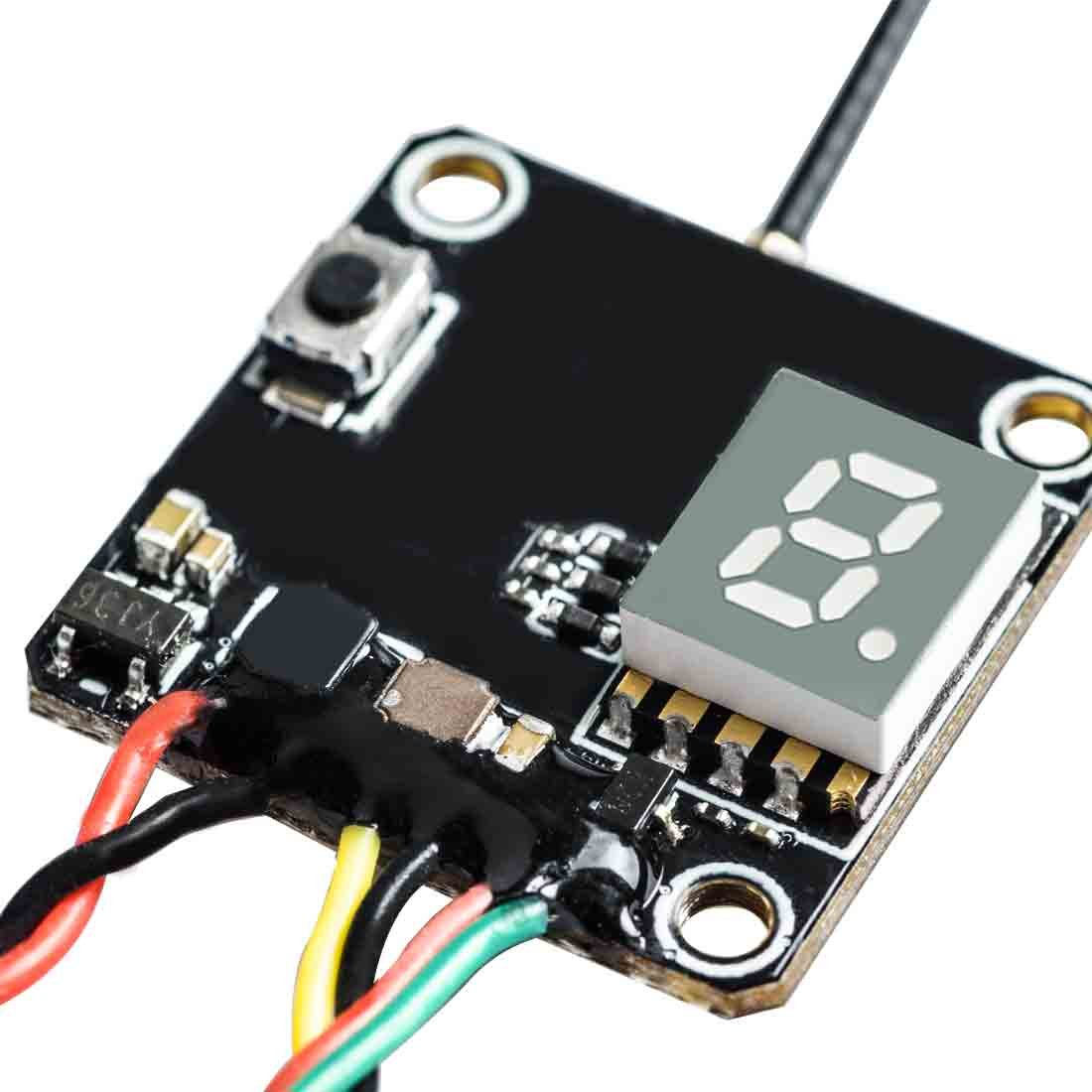 Tecesy 2.4GHz Radio System Remote Controller Transmitter for 1//12 Rc Cars Buggy Truck RC-01//C02//C03//C04//C05//C06