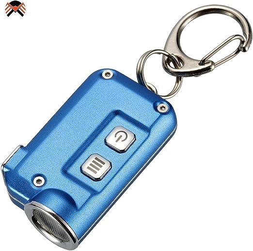 Nitecore Tini 380 Lm Rechargeable USB Porte Clé Lampe de Poche