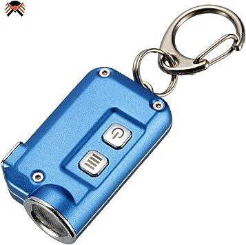 Nitecore TINI Linterna Llavero LED Recargable USB Ultra Brillante 380 L/úmenes 13,4 Gramos