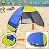 Strong Camel Instant Pop Up Beach Tent Sun Shelter Canopy Family Sports