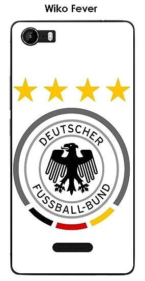 Onozo Carcasa Wiko Fever Design Alemania fútbol Fondo Blanco ...
