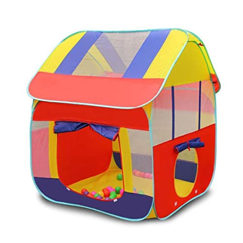 Toyshine Foldable Kids Childrens Indoor Outdoor Pop Up Play Tent House Toy Multicolour