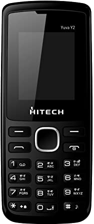 Hitech Yuva Y2  Black Blue  Basic Mobiles